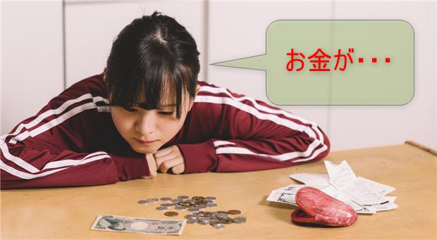 貧困女子のお金の不安