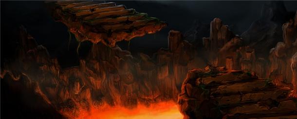 地獄の業火に焼かれる
