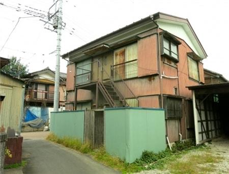 家賃の安い木造アパート